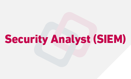 Security Analyst (SIEM)