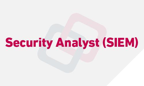 Security Analyst (SIEM)