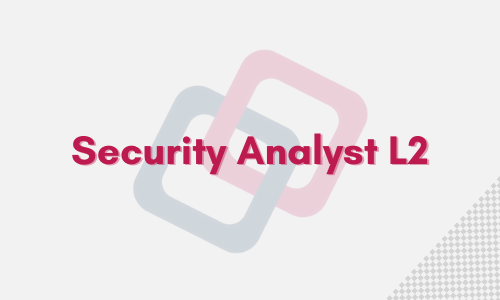 Security Analyst L2