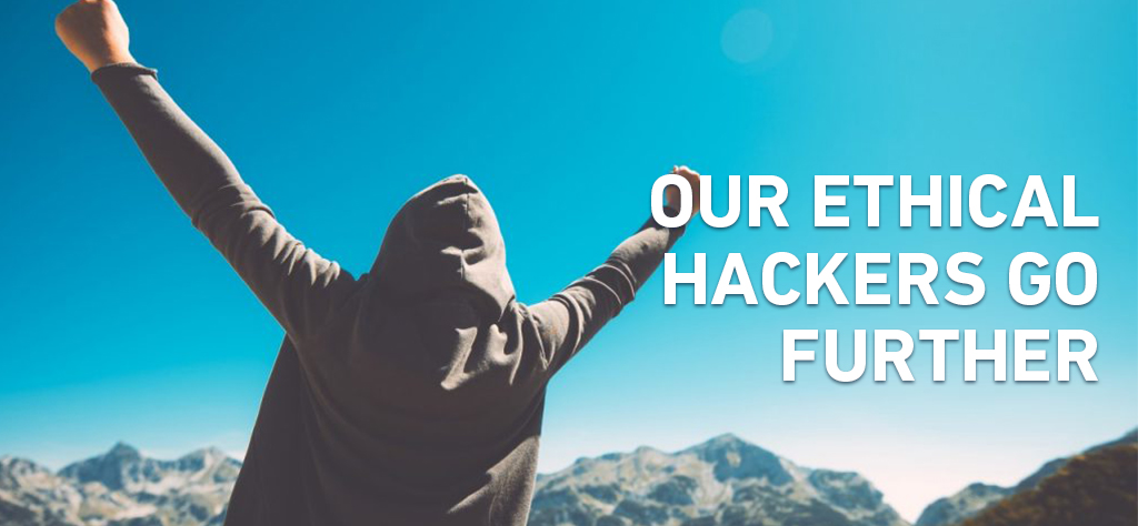 Our Ethical hackers go further