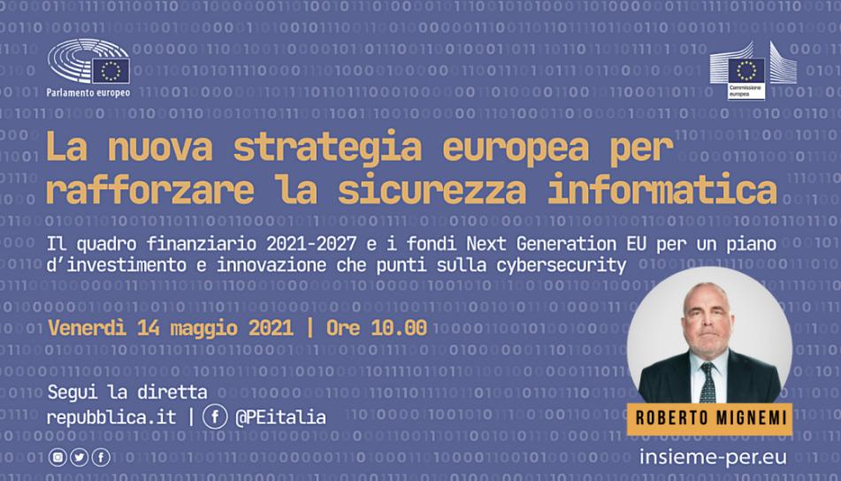 Webinar: La nuova strategia europea per rafforzare la sicurezza informatica